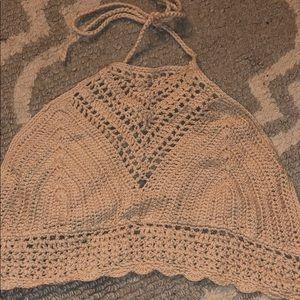 Beachy crochet top